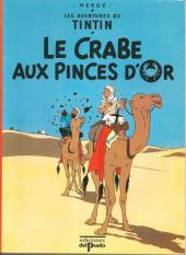 Tintin (Study Comics - del Prado) -3- Le Crabe aux pinces d'or