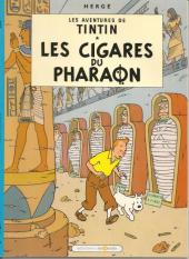 Tintin (Study Comics - del Prado) -8- Les cigares du pharaon