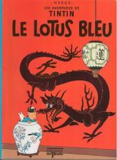 Tintin (Study Comics - del Prado) -9- Le lotus bleu