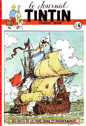 (Recueil) Tintin (Album du journal - Édition belge) -16- Tome 16