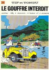 Tif et Tondu -26a1981- Le gouffre interdit