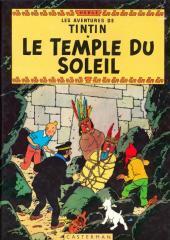 Tintin (Historique) -14C2- Le temple du soleil