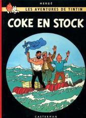 Tintin (Historique) -19C2- Coke en stock