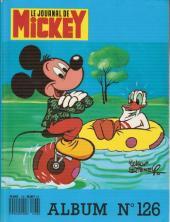 (Recueil) Mickey (Le Journal de) -126- Album n°126 (n°1818 à 1827)