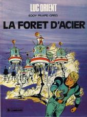 Luc Orient -5c84- La forêt d'acier