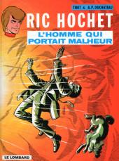 Ric Hochet -20a98- L'homme qui portait malheur