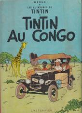 Tintin (Historique) -2B23- Tintin au congo