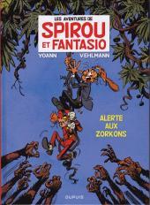 Spirou et Fantasio -51Pub1- Alerte aux Zorkons