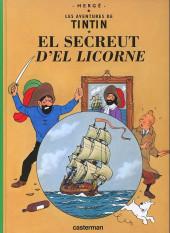 Tintin (en langues régionales) -11Borain- El Secreut d'el Licorne