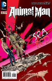 Animal Man (2011) -9- Extinction is Forever, Part One: The Bone Orchard