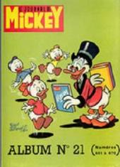 (Recueil) Mickey (Le Journal de) (1952) -21- Album n°21 (n°451 à 470)