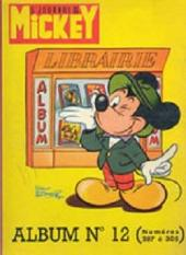 (Recueil) Mickey (Le Journal de) (1952) -12- Album n°12 (n°287 à 305)