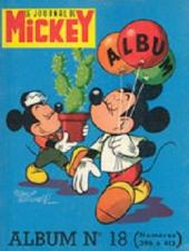 (Recueil) Mickey (Le Journal de) (1952) -18- Album n°18 (n°396 à 413)
