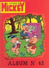 (Recueil) Mickey (Le Journal de) (1952) -43- Album n°43 (n°841 à 858)