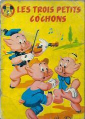 Votre série Mickey (2e série) - Albums Filmés ODEJ -23- Les trois petits cochons