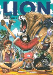 One Piece -ART3- LION - Color Walk 3