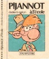 Pijannot -1MR2579- Pijannot à l'école