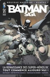Batman Saga -1- La renaissance des super-héros DC