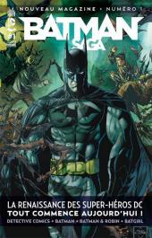 Batman Saga -1VC- La renaissance des super-héros DC