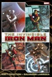 Invincible Iron Man (2008) -OHC01- Deluxe Hardcover volume 1