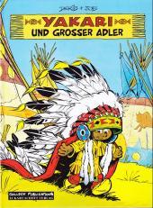 Yakari (en allemand) -1- Und grosser adler