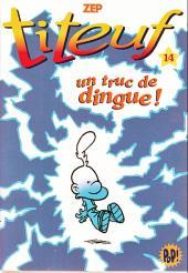 Titeuf (bibliothèque rose pop!) -14- Un truc de dingue !