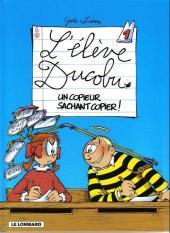 L'Élève Ducobu -1a2002- Un copieur sachant copier
