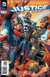 Justice League (2011) -9- The villain's journey chapter 1 : the call for adventure