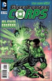 Green Lantern Corps (2011) -9- Alpha-war : tried and true