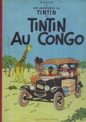 Tintin (Historique) -2B23ter- Tintin au congo