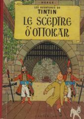 Tintin (Historique) -8B30- Le sceptre d'Ottokar