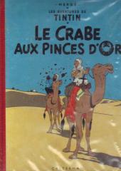 Tintin (Historique) -9B12bis- Le crabe aux pinces d'or