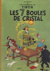 Tintin (Historique) -13B29- Les 7 boules de cristal