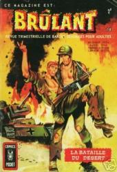 Brûlant (1re série) -14- La bataille du désert