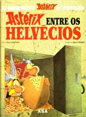 Astérix (en langues étrangères) -16Portugais- Astérix entre os Helvécios