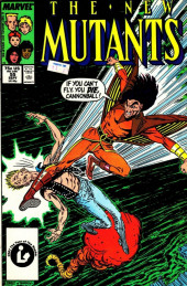 New Mutants (The) (1983) -55- Flying Wild