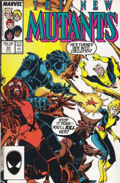 New Mutants (The) (1983) -53- Seduced & Abandoned