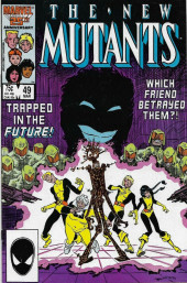 New Mutants (The) (1983) -49- Ashes of the Soul
