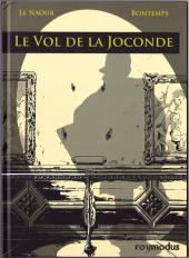 Couverture de Le vol de la Joconde