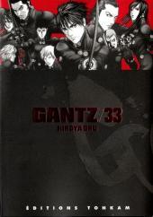 Gantz -33- Gantz 33