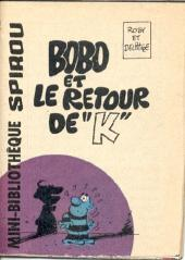 Bobo -MR1561- Bobo et le retour de