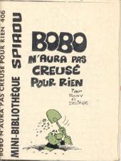 Bobo -MR1565- Bobo n'aura pas creusé pour rien