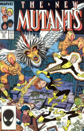 New Mutants (The) (1983) -57- Birds of a Feather