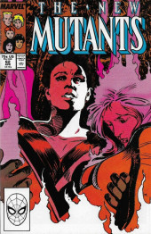 New Mutants (The) (1983) -62- To Build a Fire