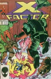 X-Factor (Marvel comics - 1986) -21- For every action...