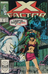 X-Factor (Marvel comics - 1986) -31- Kiss Off