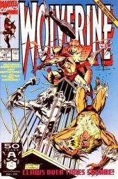 Wolverine (1988) -45- Claws over times square !