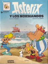 Astérix (en espagnol) -9a- Astérix y los normandos