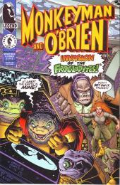 Monkeyman & O'Brien (1996) -2- The invasion of the Froglodytes !