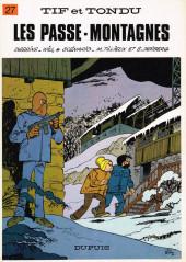 Tif et Tondu -27- Les passe-montagnes